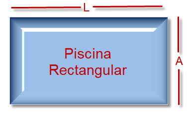 calculo volumen piscina rectangular